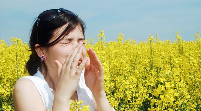 алергия към полени