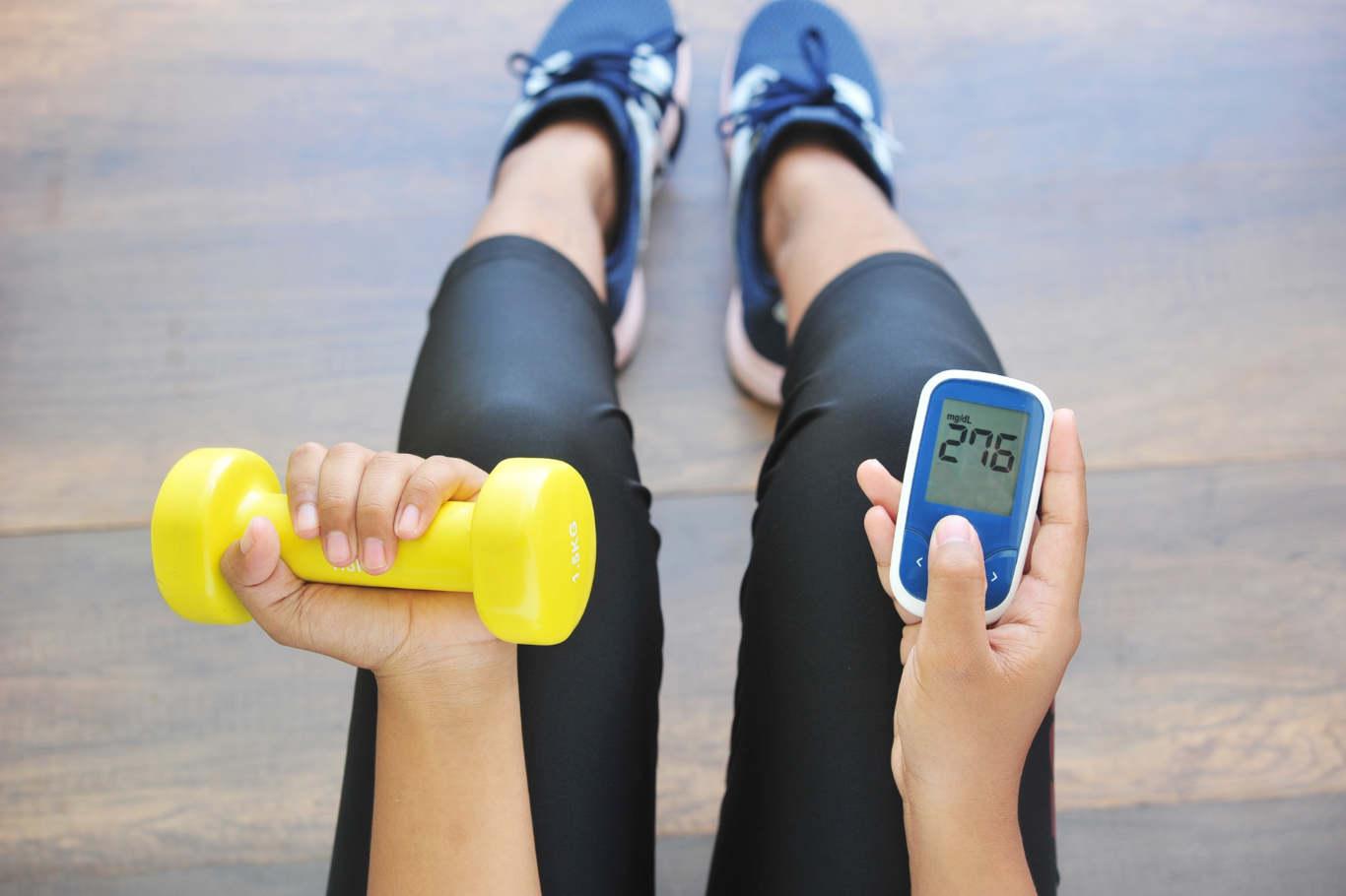 спортуване при диабет
