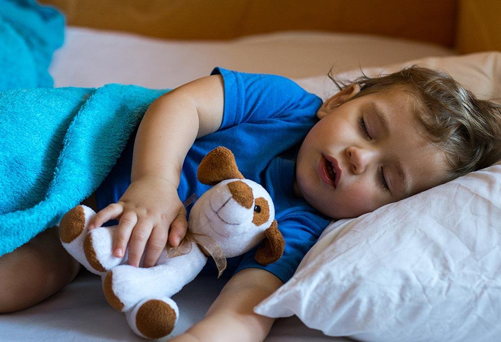 достатъчен сън за децата