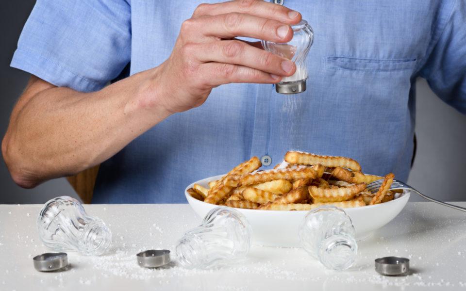 проблеми от ядене ан много сол