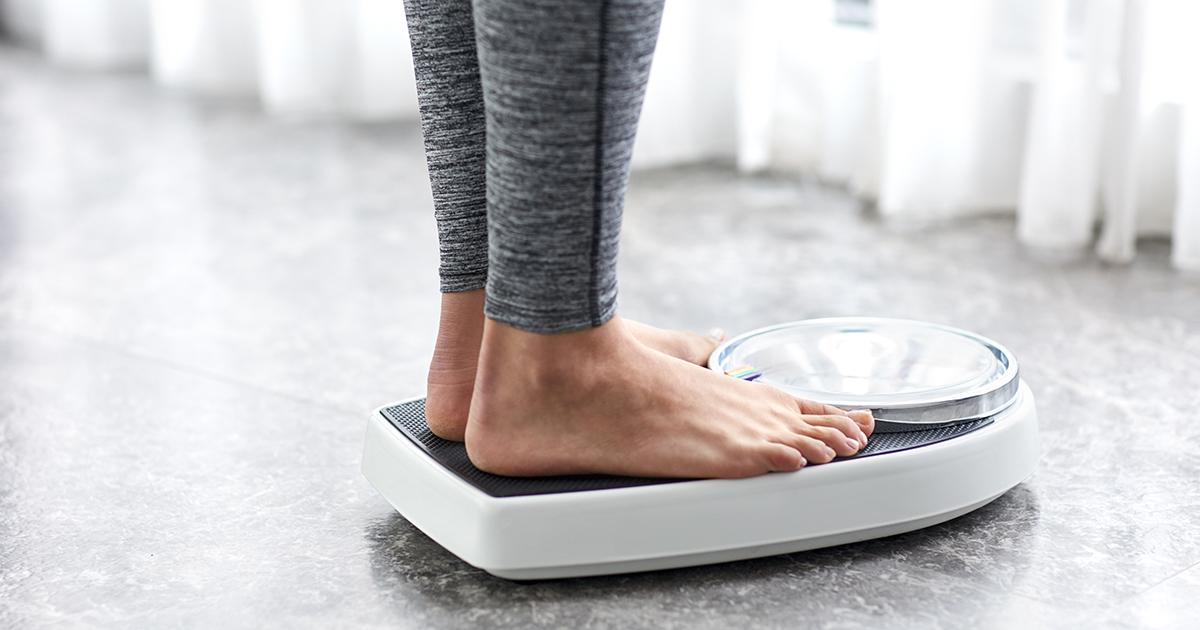 Резки промени в теглото