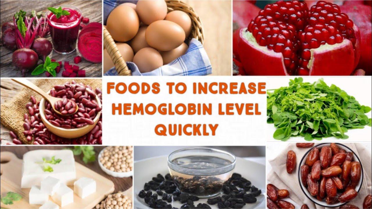 храни при нисък хемоглобин