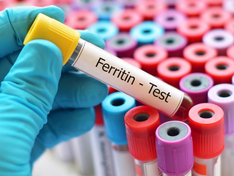 Кога се изследва феритинът