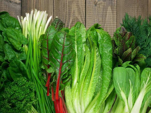 зелени храни с желязо